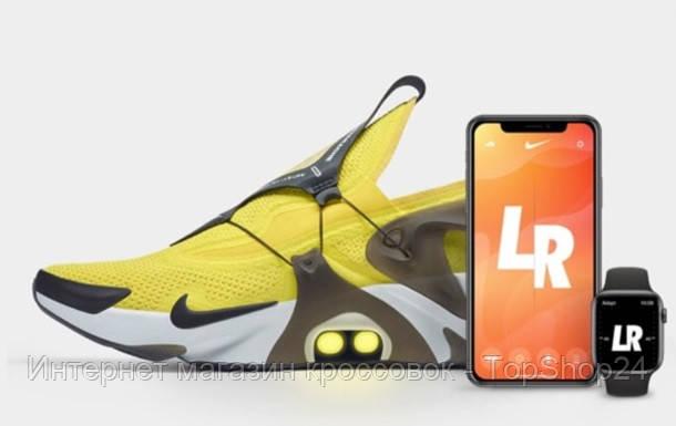 Nike показала кроссовки, которые завязывает iPhone