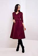 Стильное платье из замша 42,44,46