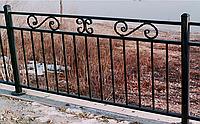 Металлические балконные ограждения. Недорогие крепкие и надежные. Возможно с покраской и установкой. Гарантия.