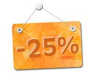 Распродажа -25% ..