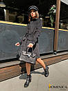 Вельветовое платье - рубашка с длинным рукавом 31plt181, фото 4