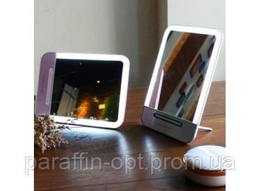 Зеркальце с LED подсветкой с зарядкой от USB