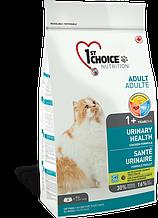 Сухой корм Фест Чойс Уринари 1st Choice Urinary Health для кошек склонных к мочекаменной болезни 1,8 кг