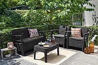 Набор садовой мебели Tarifa Set из искусственного ротанга, фото 1
