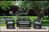 Набор садовой мебели Tarifa Set из искусственного ротанга ( Allibert by Keter ), фото 8