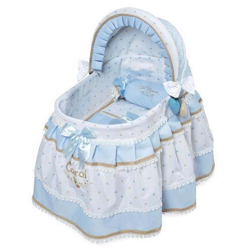 Кроватка для куклы DeCuevas с козырьком  Кэрол 51127, 52 см