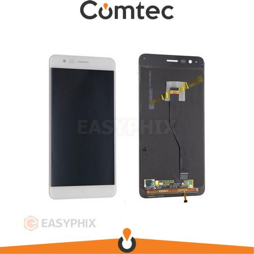 Дисплей для Asus ZenFone 3 Zoom (ZE553KL) с тачскрином (Модуль) белый, Glacier Silver