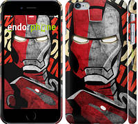 "Чехол на iPhone 6 Plus Iron Man ""2764c-48"""