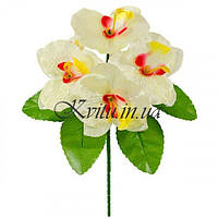 Букет искусственной орхидейки бордюр, 21см