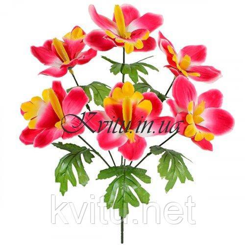 Букет искусственных орхидей, 36см