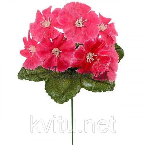 Искусственные цветы букет турецкая гвоздичка бордюрная, 21см
