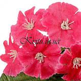 Искусственные цветы букет турецкая гвоздичка бордюрная, 21см, фото 2