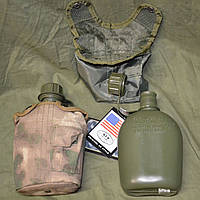 Армейская фляга USA в термочехле HDT.