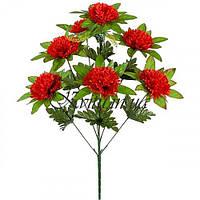 Искусственные цветы букет высоких гвоздик, 58см