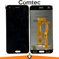 Дисплей для HTC One A9s с тачскрином (Модуль) черный, оригинал