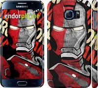 "Чехол на Samsung Galaxy S6 G920 Iron Man ""2764c-80"""