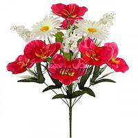 Букет  искусственных цветов Симфония, 56см