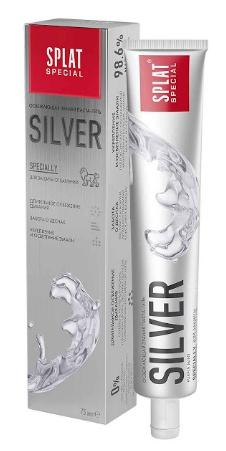 """Зубная паста SPLAT """"Silver"""" (75мл.)"""