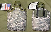 Армейская фляга USA в  термочехле AT digital
