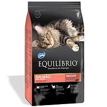 Сухой корм для кошек Эквилибрио Equilibrio Cat Adult Salmon с лососем 500 г