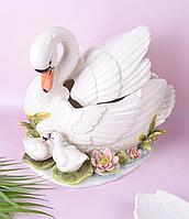 Банка для сыпучих продуктов Семья лебедей 59-138