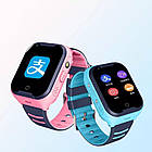 Умные детские часы Smart baby watch A36E Blue 4G видеочат GPS ip67, фото 3