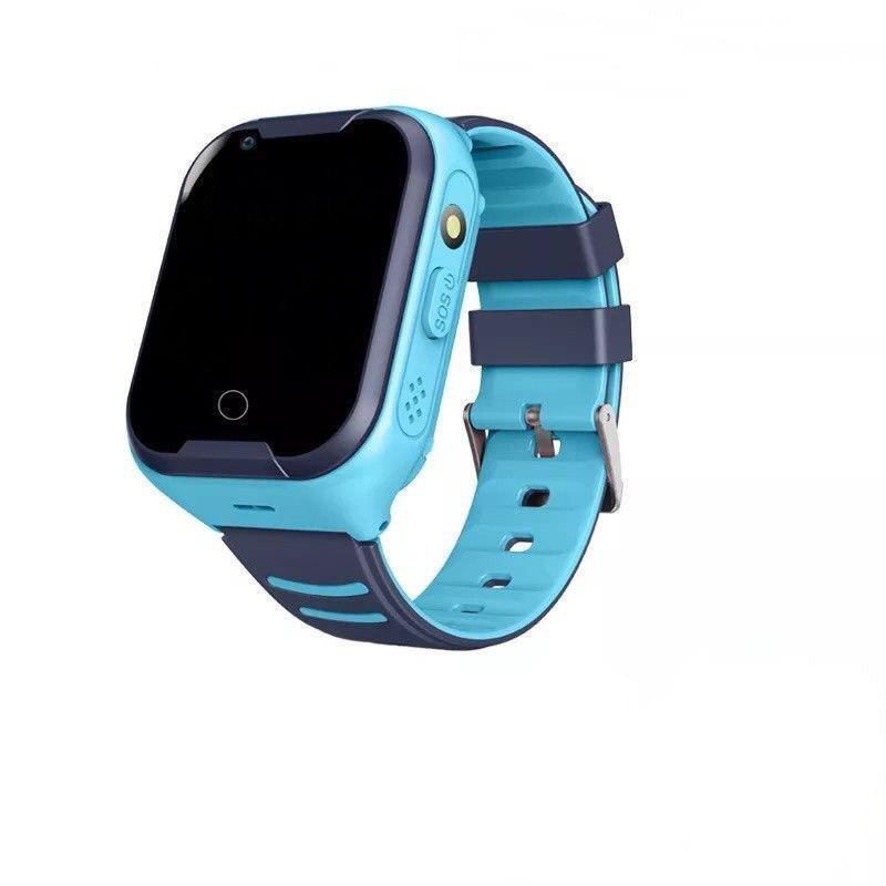 Умные детские часы Smart baby watch A36E Blue 4G видеочат GPS ip67