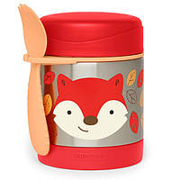 Skip Hop Zoo Детский термос кружка для еды Лисичка 252392 Fox Little Kid and Toddler Insulated Food