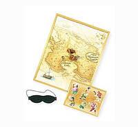 Карта Пиратский клад Игровой набор на вечеринку