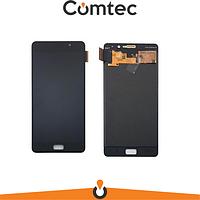 Дисплей для Lenovo P2 Vibe (P2A42/P2C72) с тачскрином (Модуль) черный, оригинал