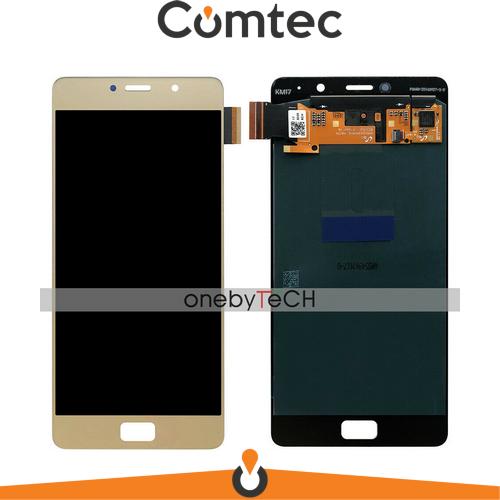Дисплей для Lenovo P2 Vibe (P2A42/P2C72) с тачскрином (Модуль) золотистый, оригинал