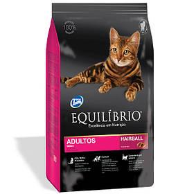 Сухой корм для кошек Эквилибрио Equilibrio Cat Adult Hairball для выведения шерсти 1,5 кг