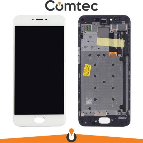 Дисплей для Meizu Pro 6 (M570H)  /Pro 6s с тачскрином (Модуль) белый,   TFT, с передней панелью (рамкой)