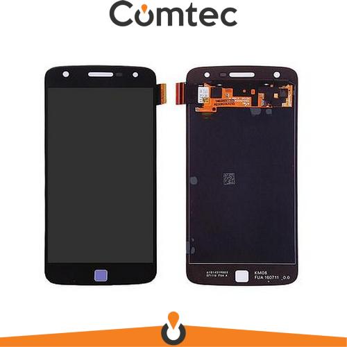 Дисплей для Motorola XT1635-02 Moto Z Play с тачскрином (Модуль) черный, Amoled, оригинал