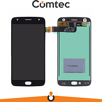 Дисплей для Motorola XT1900-7 Moto X4 с тачскрином (Модуль) черный