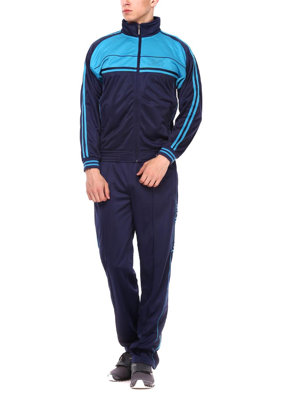 Спортивный костюм MONTANA 27051 Navy/Turquoise