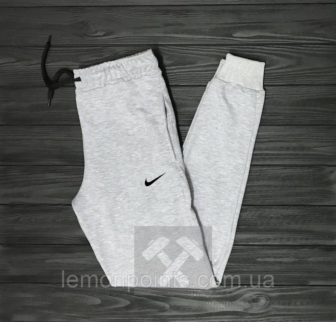 Теплые спортивные мужские штаны Nike (Найк)