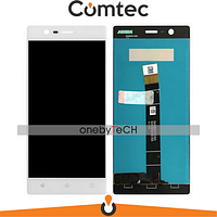 Дисплей для Nokia 3 Dual Sim TA-1032/Nokia 3 TA-1020 с тачскрином (Модуль) белый