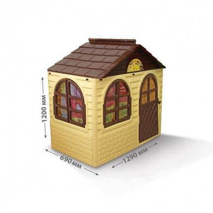 Домик детский,129 см*69 см*120 дом будиночок DOLONI-TOYS АРТИКУЛ 02550/12, фото 2