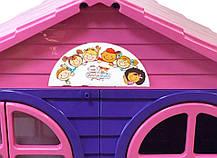 Домик детский,129 см*69 см*120 дом будиночок DOLONI-TOYS АРТИКУЛ 02550/13, фото 2