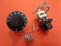 Терморегулятор капиллярный на 3 контакта 320 для электрических духовых шкафов, фритюрниц, паяльников для ПВХ