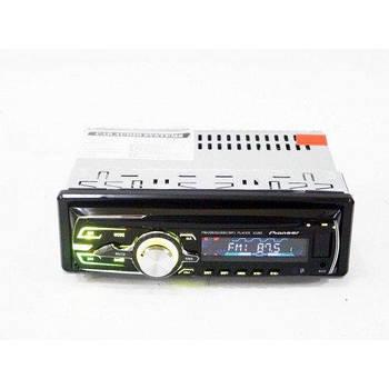 Автомагнітола 1DIN MP3-3228D RGB/Знімна панель