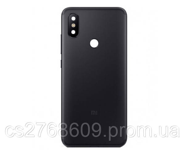 "Задня кришка Xiaomi Mi6x, A2 black ""Original"""