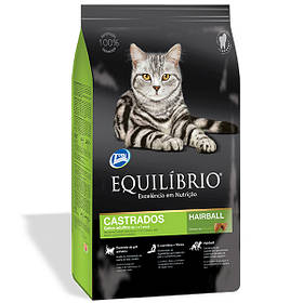 Сухой корм для кастрированных и стерилизованных кошек Эквилибрио Equilibrio Cat Adult Neutered 15 кг