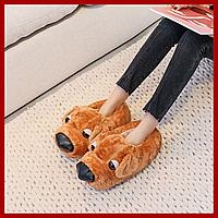 Домашние тапочки Собака Brown R152826