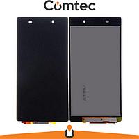 Дисплей для Sony D6502 Xperia Z2 L50W/D6503 с тачскрином (Модуль) черный, оригинал
