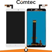 Дисплей для Xiaomi Redmi 3/3 Pro/Redmi 3s/3s Prime/Redmi 3x с тачскрином (Модуль) белый
