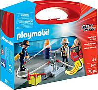 Игровой набор ПлейМобил Пожарная служба PLAYMOBIL Fire Rescue Carry Case 5651
