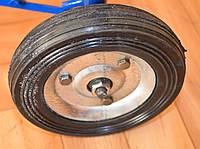 Диаметр 12,5 см. Запасные цельнометаллические колеса с подшипником для кравчучки (тележки)