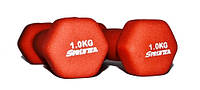 Гантель неопреновая SPRINTER 1 кг.